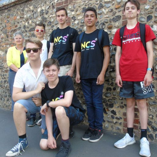 Featured image for A summer of support from NCS teenagers