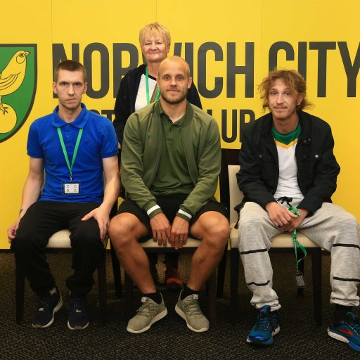 Featured image for St Martins clients enjoy VIP treatment at Carrow Road