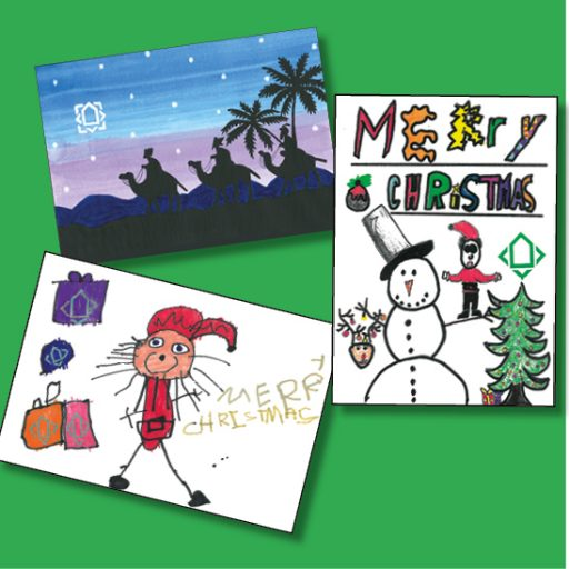 Featured image for Christmas card competition winners