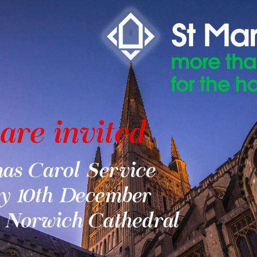 Featured image for Join us on December 10th for our carol service
