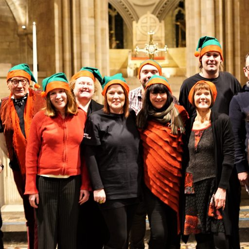 Featured image for Our first ever Christmas carol service was a big success