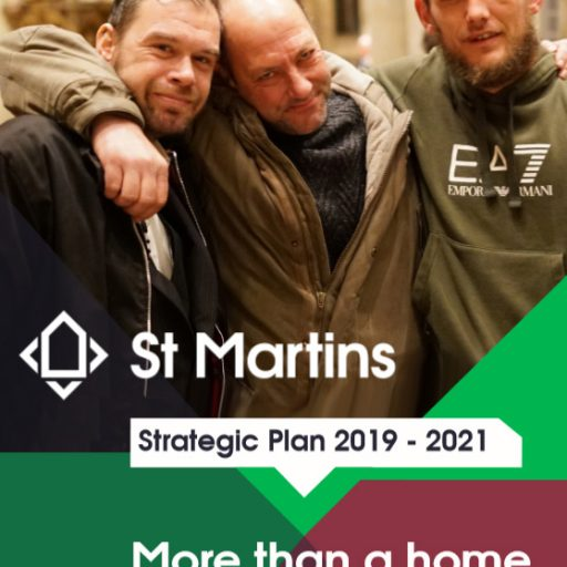 Featured image for More than a home for the homeless: our Strategic Plan 2019 - 21