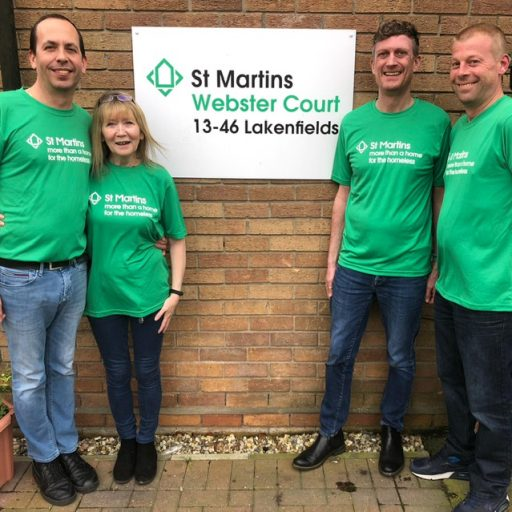 Featured image for Leap of faith for St Martins team members
