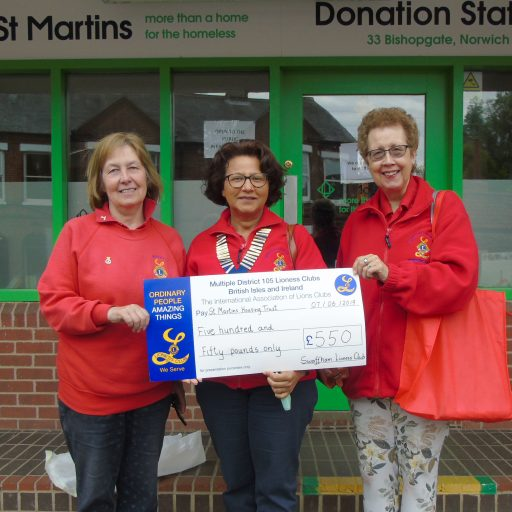 Featured image for Swaffham Lionesses support St Martins