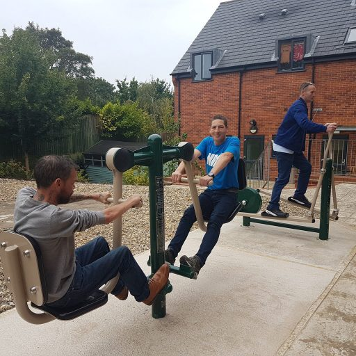 Featured image for Outdoor gym installed at hostel