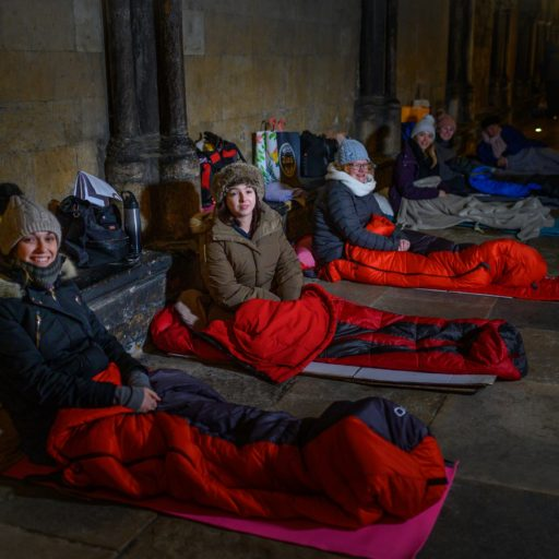 Featured image for Sponsored sleepout raises thousands for homelessness charity