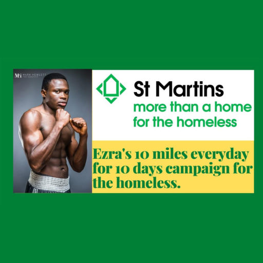 Featured image for Ezra runs 10 miles a day for 10 days for St Martins