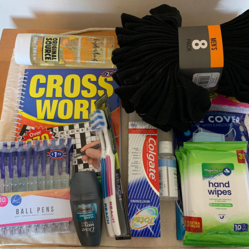 Featured image for Bags of goodies donated to St Martins