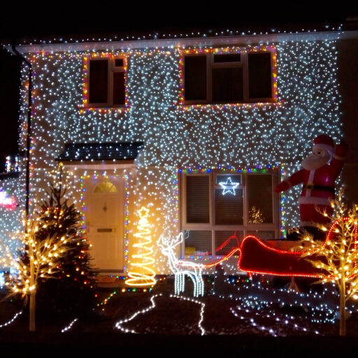 Featured image for Tuckswood Christmas White House raises a smile and charity funds