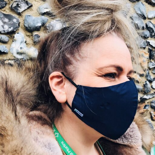 Featured image for Buy online! Fabric face masks raise funds for St Martins
