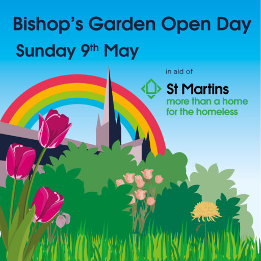 Featured image for Bishop's Garden event Sunday May 9th