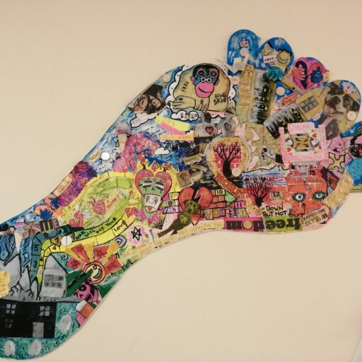 Featured image for Footprints art project symbolises our journeys