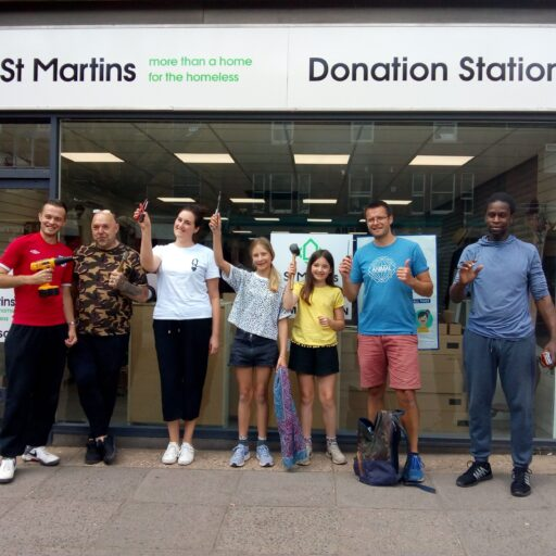 """Featured image for St Martins to open """"Donation Station"""" in Anglia Square on Saturday June 3rd"""