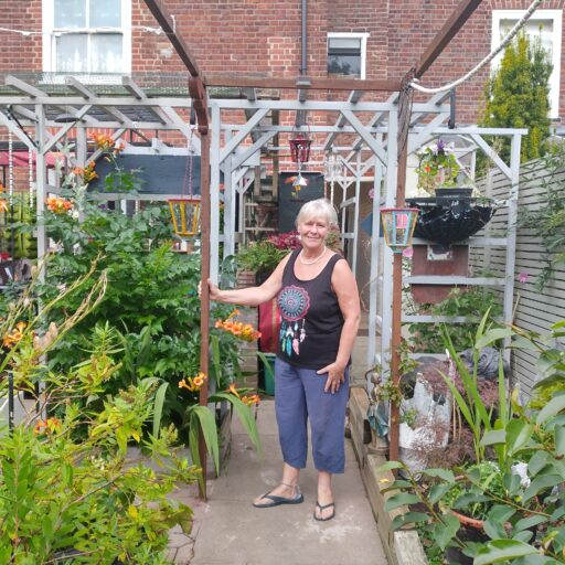 Featured image for Lindsay's lockdown garden opens for St Martins